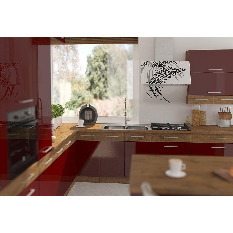 szafka kuchenna vigo bordo hg 80gu 72 2f