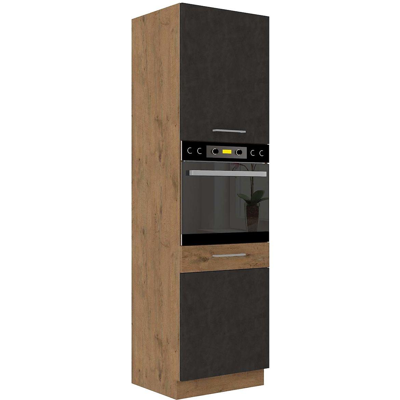 szafka kuchenna vigo grafit mat 60dp 210 2f 2
