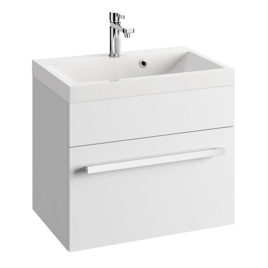 szafka pod umywalke olex d60 0d1s biala