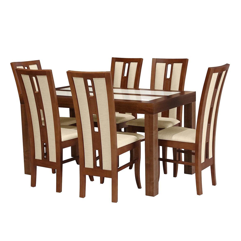 zestaw stol i krzesla sylwia 16 st 402 kr347 br233 savi1 lt beige